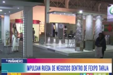 IMPULSAN RUEDA DE NEGOCIOS DENTRO DE LA FEXPO TARIJA