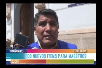 100 NUEVOS ÍTEMS PARA MAESTROS