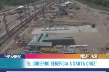"""ELMAR CALLEJAS: """"EL GOBIERNO BENEFICIA A SANTA CRUZ"""""""