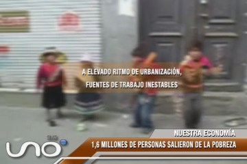 NUESTRA ECONOMÍA: POBREZA EN EL ÁREA RURAL REGISTRÓ UNA BAJA DE 1, 8%.