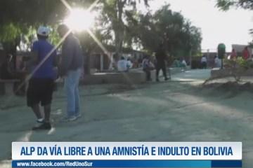 LA ALP DA VÍA LIBRE A UNA ADMISTÍA E INDULTO EN BOLIVIA