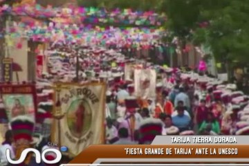 TARIJA TIERRA DORADA: FIESTA GRANDE DE TARIJA ANTE LA UNESCO