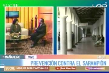 ENTREVISTA: PREVENCIÓN CONTRA EL SARAMPIÓN