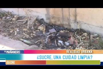 REALIDAD URBANA: SUCRE CIUDAD BLANCA