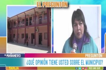 EL PREGUNTÓN: MUNICIPIO DE TARIJA