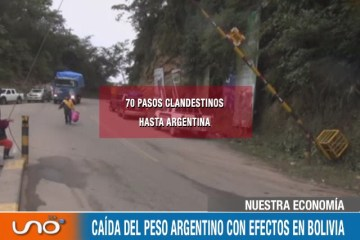 NUESTRA ECONOMÍA: CAÍDA DEL PESO ARGENTINO CON EFECTOS EN BOLIVIA