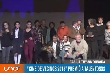 """TARIJA TIERRA DORADA: """"CINE DE VECINOS 2018"""" PREMIÓ A TALENTOSOS"""