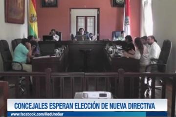 CONCEJALES ESPERAN LA ELECCIÓN DE NUEVA DIRECTIVA