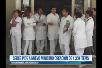 SEDES PIDE A NUEVO MINISTRO LA CREACIÓN DE 1.359 ÍTEMS