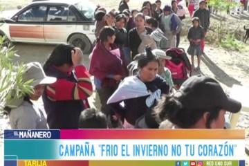 MISS TARIJA REALIZA CAMPAÑA SOLIDARIA