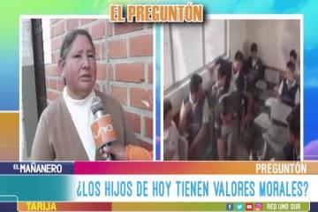 EL PREGUNTÓN: VALORES MORALES EN LOS HIJOS