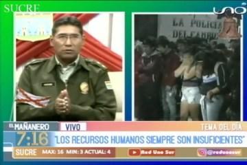 TEMA DEL DÍA: SEGURIDAD CIUDADANA EN SUCRE Y CHUQUISACA