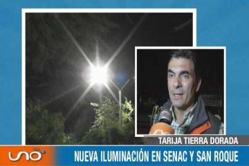 TARIJA TIERRA DORADA: NUEVA ILUMINACIÓN LED EN CENAC Y SAN ROQUE