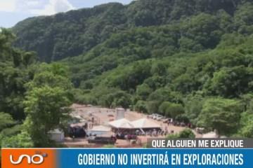 QUÉ ALGUIEN ME EXPLIQUE: GOBIERNO NO INVERTIRÁ EN EXPLORACIONES
