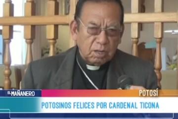 POTOSINOS FELICES POR CARDENAL TICONA