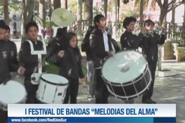 "I FESTIVAL DE BANDAS ""MELODÍAS DEL ALMA"""
