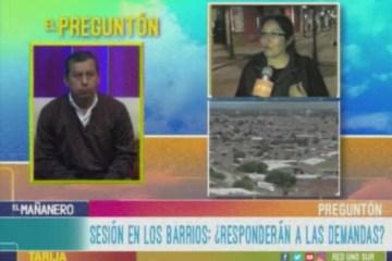 EL PREGUNTÓN: SESIÓN DEL CONCEJO MUNICIPAL EN LOS BARRIOS