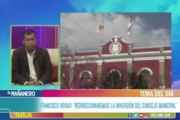 """TEMA DEL DÍA: """"REDIRECCIONAREMOS LA INVERSIÓN DEL CONCEJO MUNICIPAL"""""""