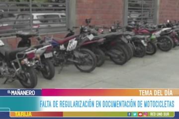 TEMA DEL DÍA: MOTOCICLETAS INDOCUMENTADAS