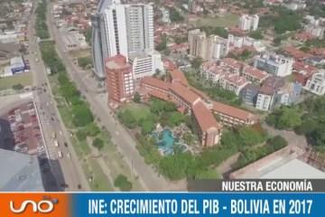 NUESTRA ECONOMÍA: INCREMENTO DEL PIB BOLIVIA 2017