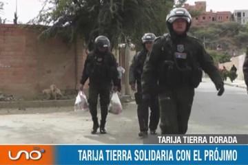 TARIJA TIERRA DORADA: SOLIDARIA CON EL PRÓJIMO