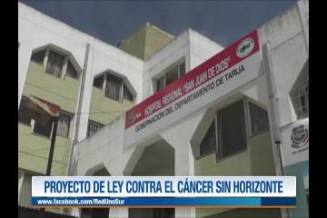 PROYECTO DE LEY CONTRA EL CÁNCER SIN HORIZONTE