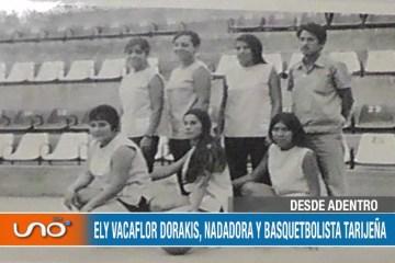 DESDE ADENTRO: DEPORTISTA ELY VACAFLOR DORAKIS