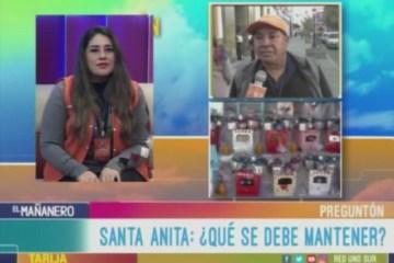 EL PREGUNTÓN: FESTIVIDAD DE SANTA ANITA
