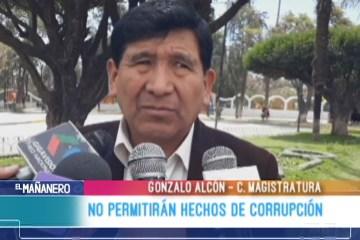 NO PERMITIRÁN HECHOS DE CORRUPCIÓN