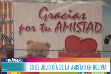 23 DE JULIO DÍA DE LA AMISTAD EN BOLIVIA