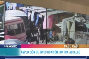 AMPLIACIÓN DE INVESTIGACIÓN CONTRA ALCALDE DE SUCRE POR EL CASO CADI