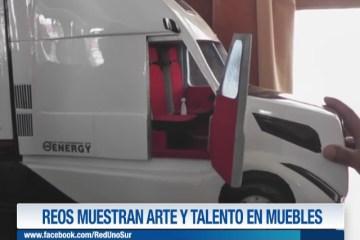 REOS MUESTRAN ARTE Y TALENTO EN MUEBLES