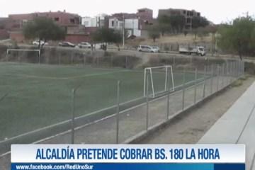 ALCALDÍA PIENSA COBRAR BS. 180 LA HORA