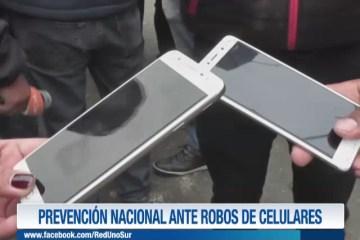 PREVENCIÓN NACIONAL ANTE ROBOS DE CELULARES