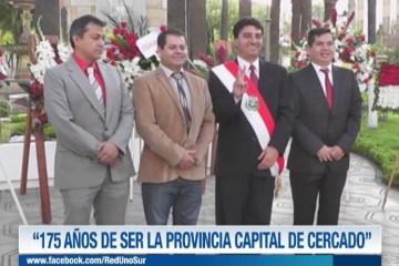 """""""175 AÑOS DE SER LA PROVINCIA CAPITAL DE CERCADO"""""""