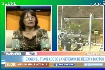 TEMA DEL DÍA: GERENCIA DE REDES Y DUCTOS DE YPFB