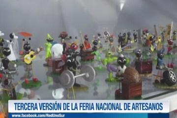 TERCERA VERSIÓN DE LA FERIA NACIONAL DE ARTESANOS