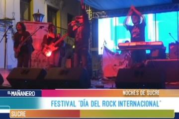 """NOCHES DE SUCRE: FESTIVAL """"DÍA DEL ROCK INTERNACIONAL"""""""