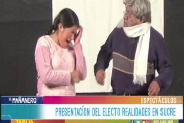 ESPECTÁCULO: PRESENTACIÓN DEL ELENCO REALIDADES