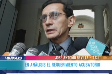 EN ANÁLISIS EL REQUERIMIENTO ACUSATORIO EN EL CASO QUIBORAX
