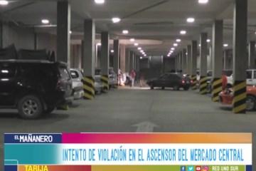 INTENTO DE VIOLACIÓN EN EL ASCENSOR DEL MERCADO CENTRAL