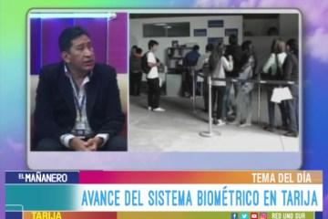 TEMA DEL DÍA: REGISTRO ÚNICO DE IDENTIFICACIÓN BIOMÉTRICO
