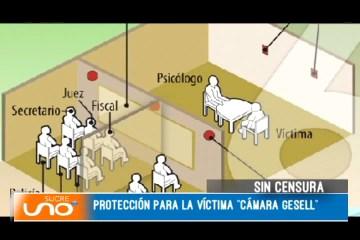 """PROTECCIÓN PARA LA VÍCTIMA """"CÁMARA GESELL"""""""