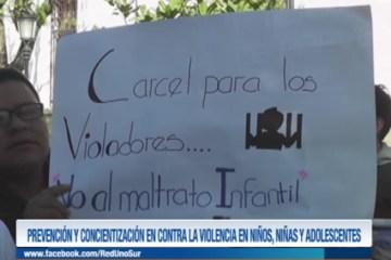 192 CASOS DE ABUSO INFANTIL SON REGISTRADOS