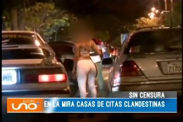SIN CENSURA: EN LA MIRA CASAS DE CITAS CLANDESTINAS