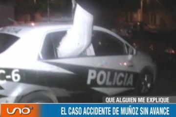 QUÉ ALGUIEN ME EXPLIQUE: CASO ACCIDENTE MUÑOZ SIN AVANCE
