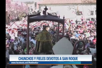 CHUNCHOS Y FIELES DEVOTOS A SAN ROQUE