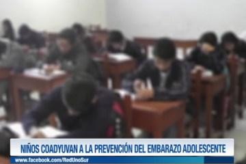 NIÑOS COADYUVAN A LA PREVENCIÓN DEL EMBARAZO ADOLESCENTE
