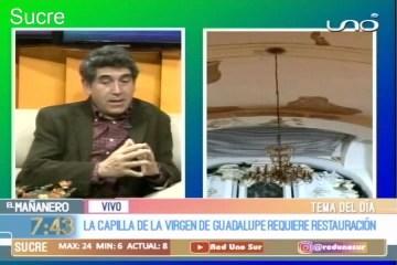 TEMA DEL DÍA: CAPILLA DE LA VIRGEN DE GUADALUPE