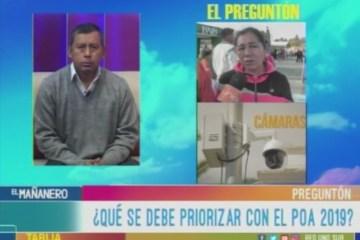 EL PREGUNTÓN: PLAN OPERATIVO ANUAL 2019